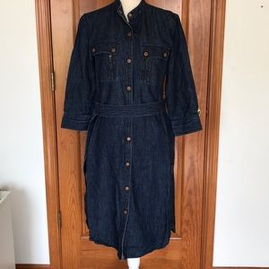 Lauren Ralph Lauren Jeans Co Shirtdress w/Belt